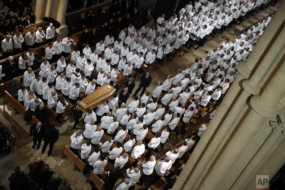 France Chef Funeral