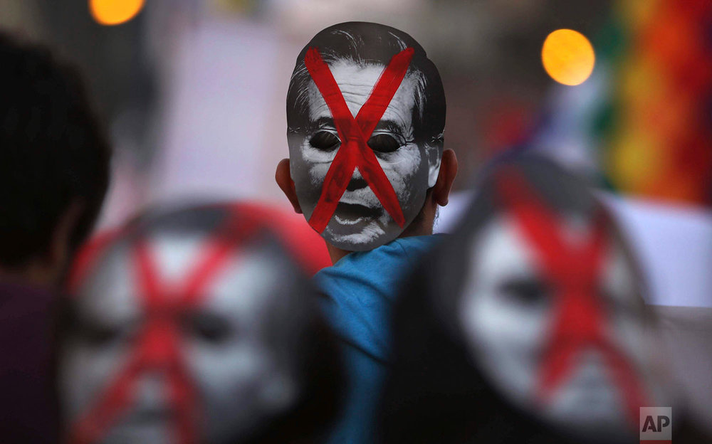 Peru Fujimori Protest