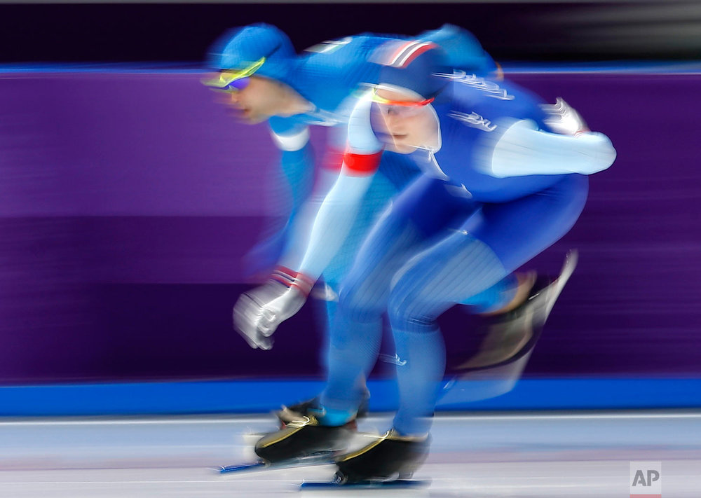 Pyeongchang Olympics Speed Skating Men