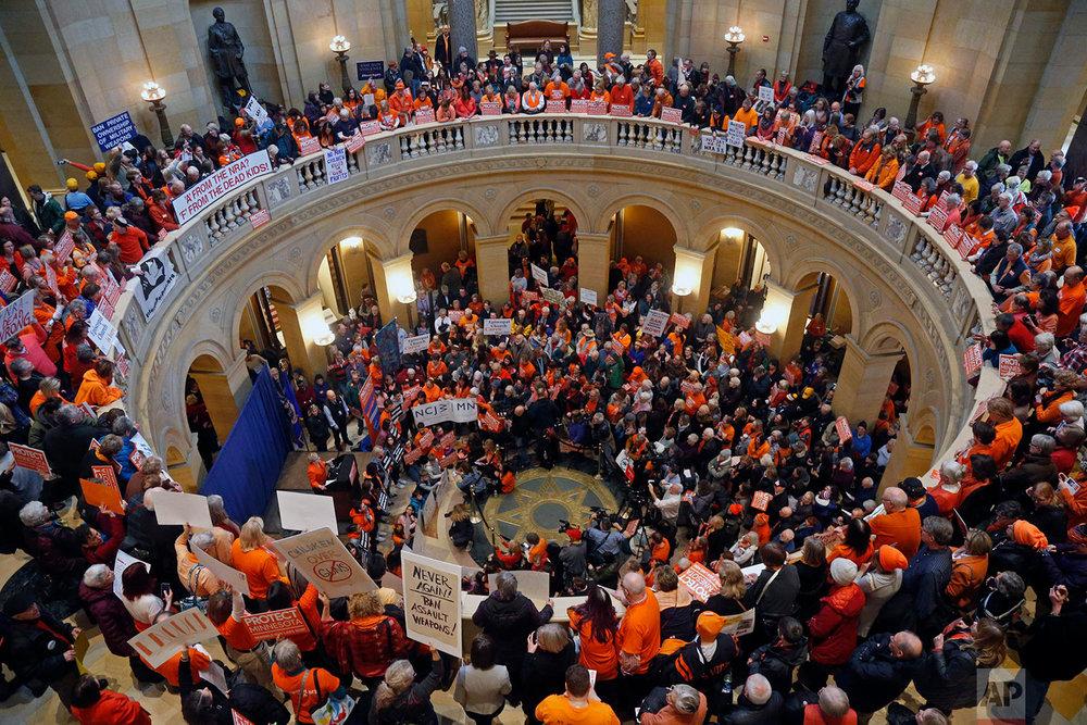 Minnesota Legislature Guns