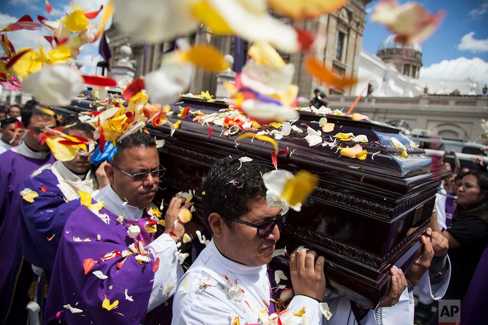Guatemala Archbishop Funeral