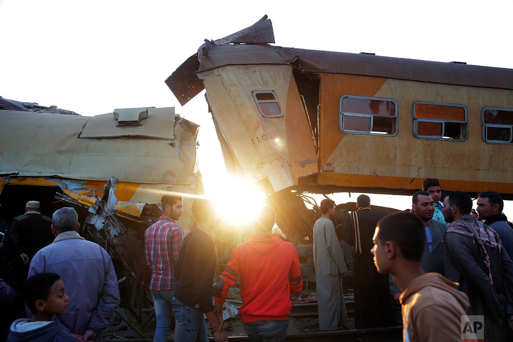 Egypt Train Collision