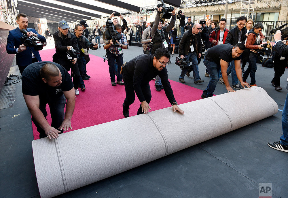 90th Academy Awards - Red Carpet Roll Out