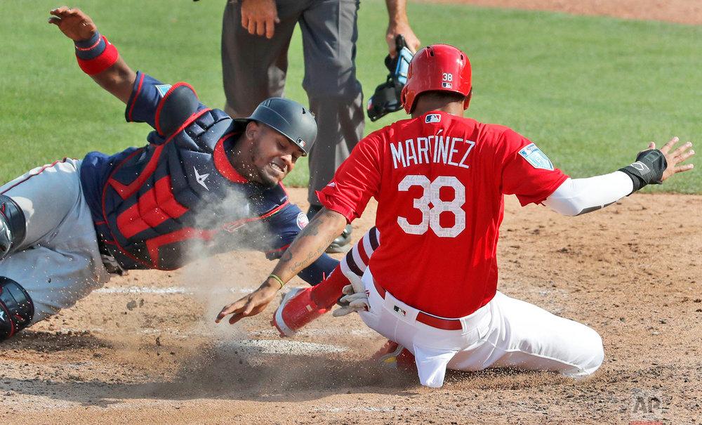 Twins Cardinals Spring Baseball