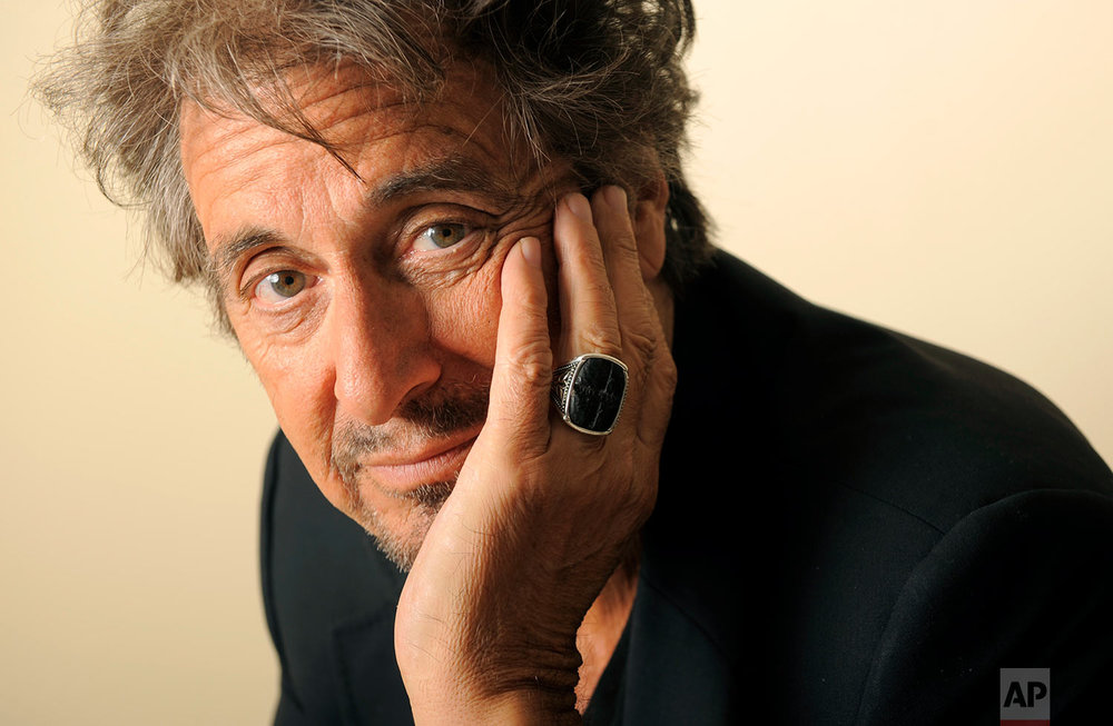 "Al Pacino, star of the HBO film ""You Don't Know Jack,"" poses for a portrait in Beverly Hills, Calif., Friday, March 26, 2010. The film looks at the life and work of doctor-assisted suicide advocate Dr. Jack Kevorkian. (AP Photo/Chris Pizzello)"