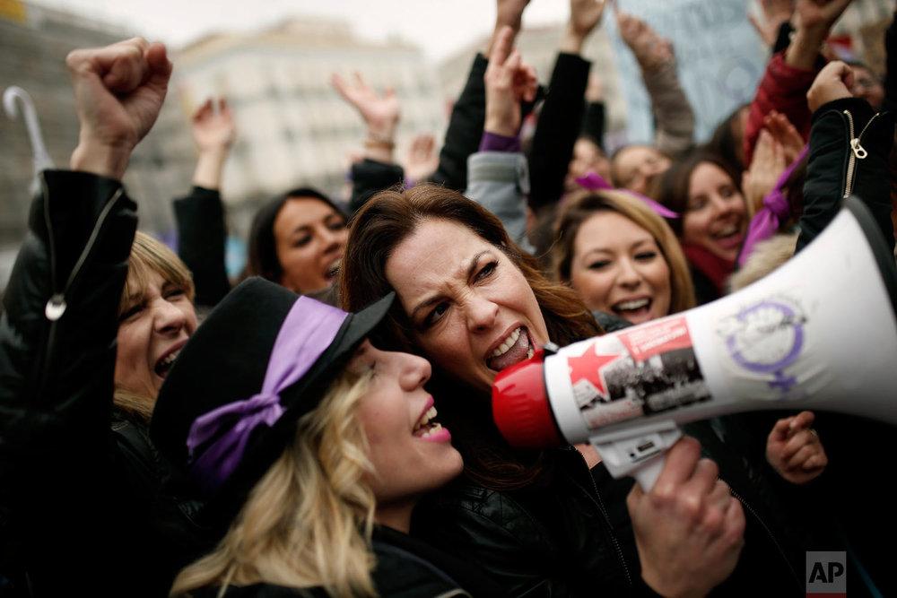 Spain International Women's Day