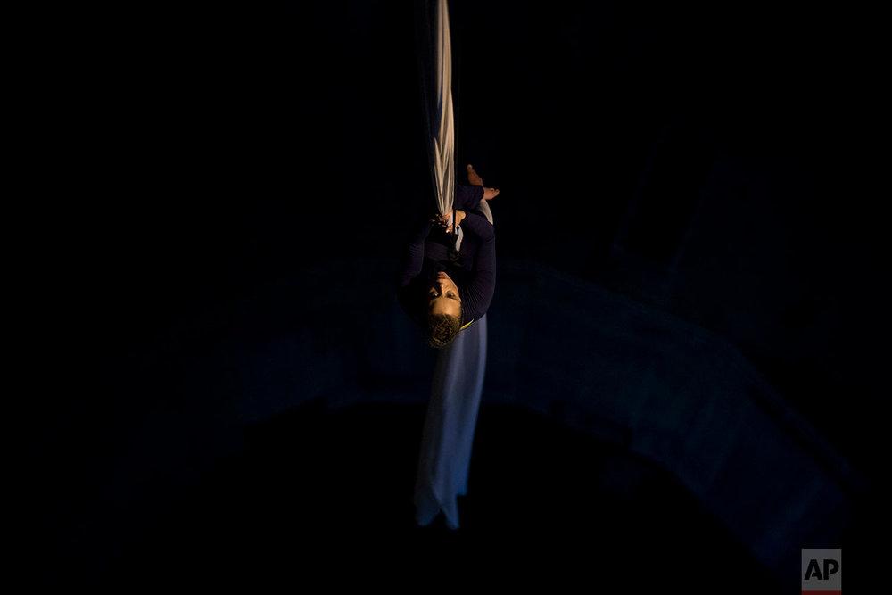 Greece Aerial Dancer