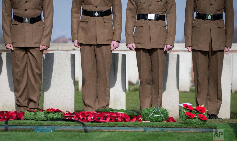 Belgium WWI Burial