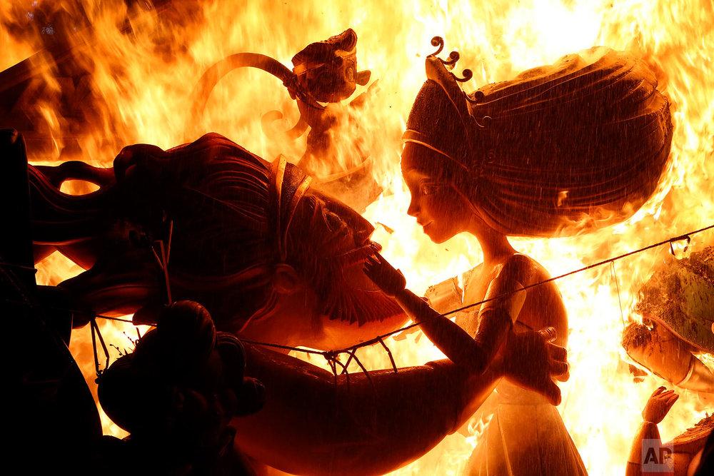 Spain Fallas Festival