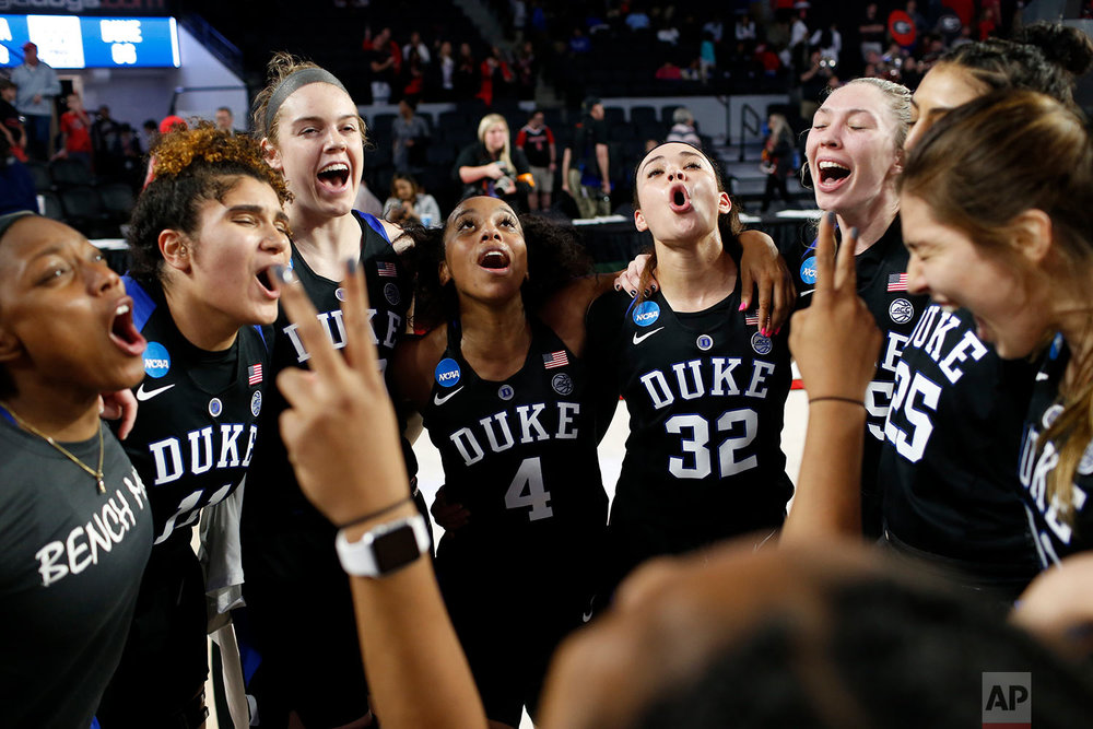 NCAA Duke Georgia Basketball