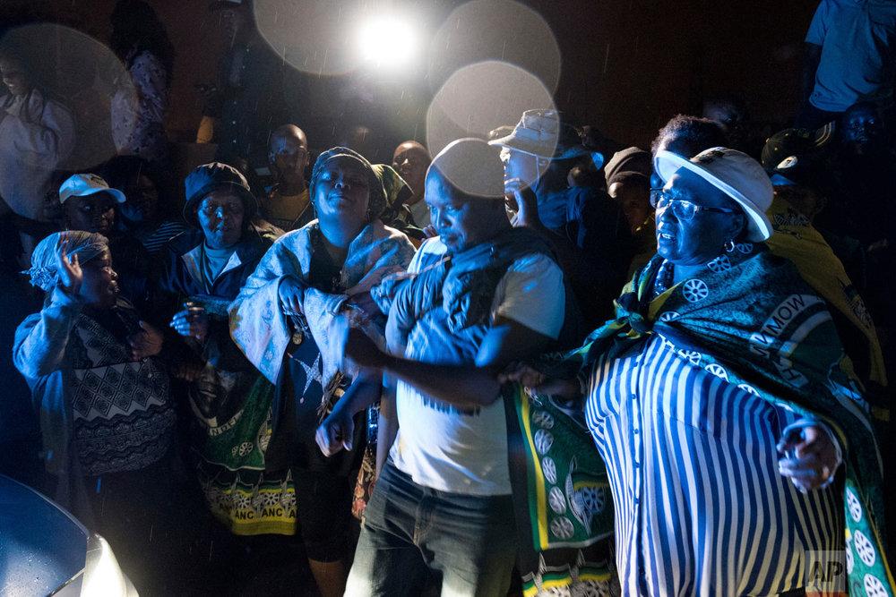South Africa Obit Madikizela-Mandela