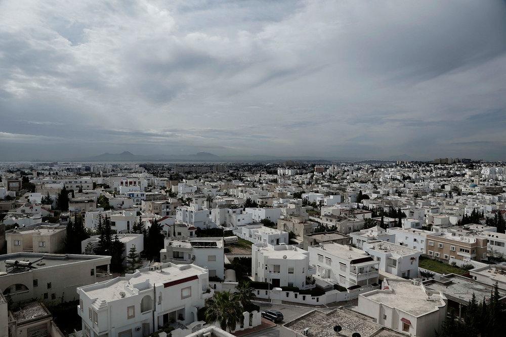 This Saturday, April 14, 2018 photo shows Ras Jebel, Tunisia. (AP Photo/Nariman El-Mofty)