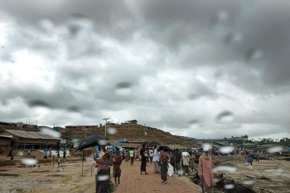 Bangladesh Rohingya Monsoon Misery