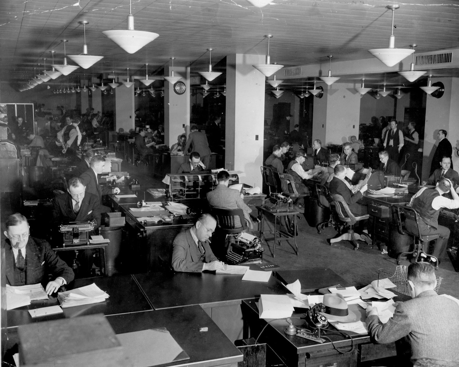 80th anniversary of AP's move to Rockefeller Center