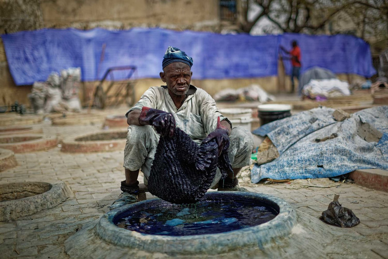 Indigo, ash and time mark Nigeria's centuries-old dye pits