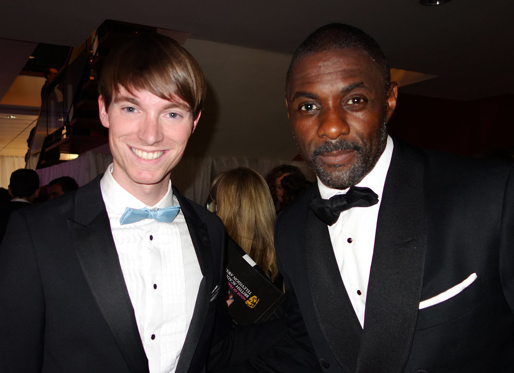 Idris Elba & Richard Brownlie-Marshall