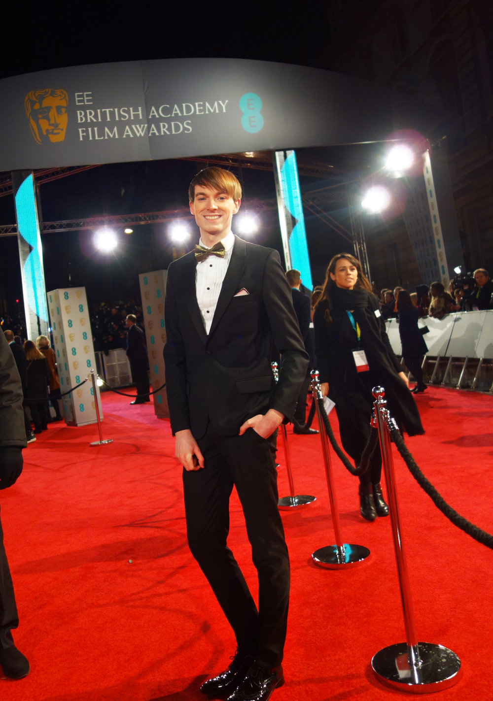 Richard Brownlie-Marshall at the BAFTAs