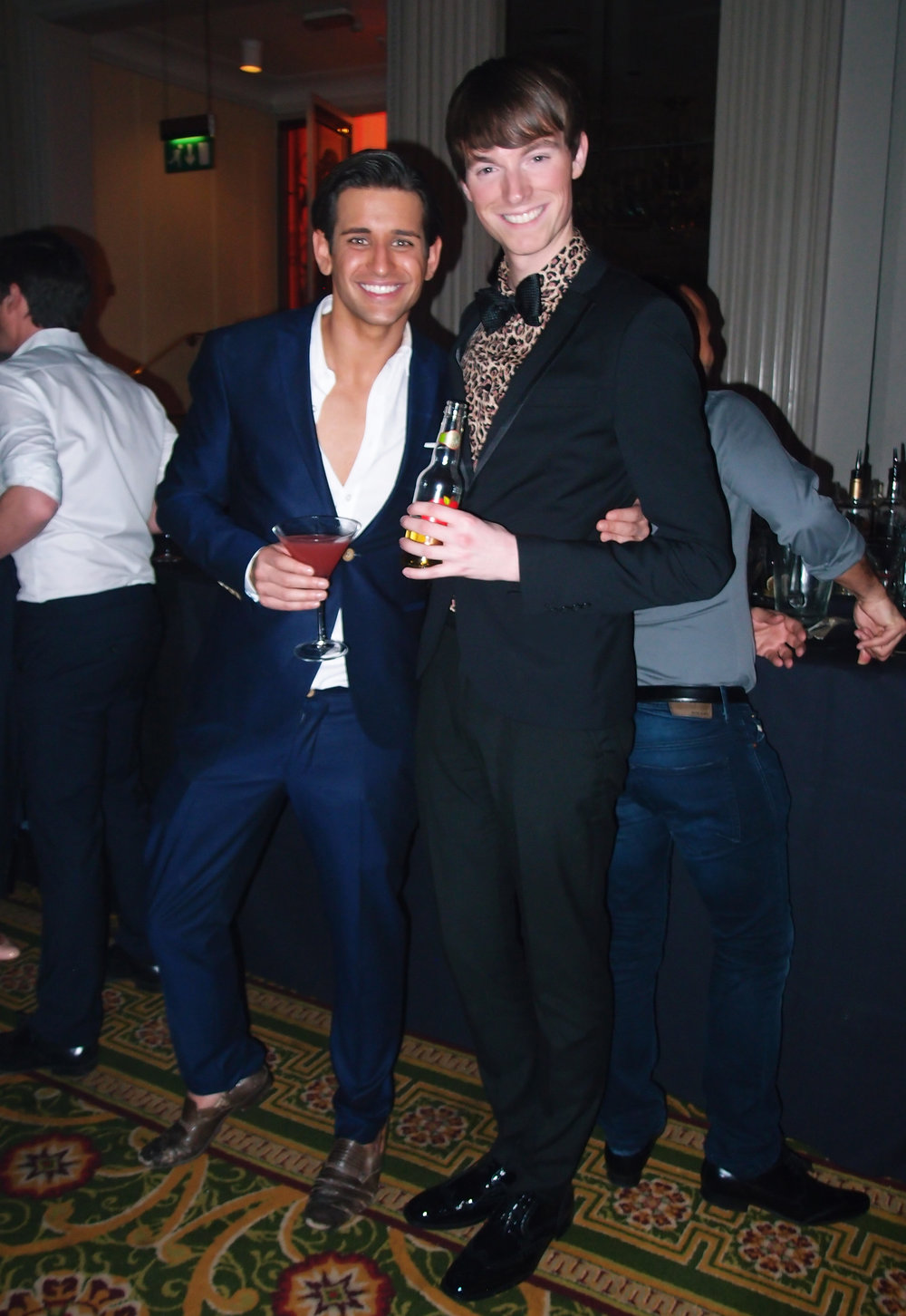 Ollie Locke & Richard Brownlie-Marshall