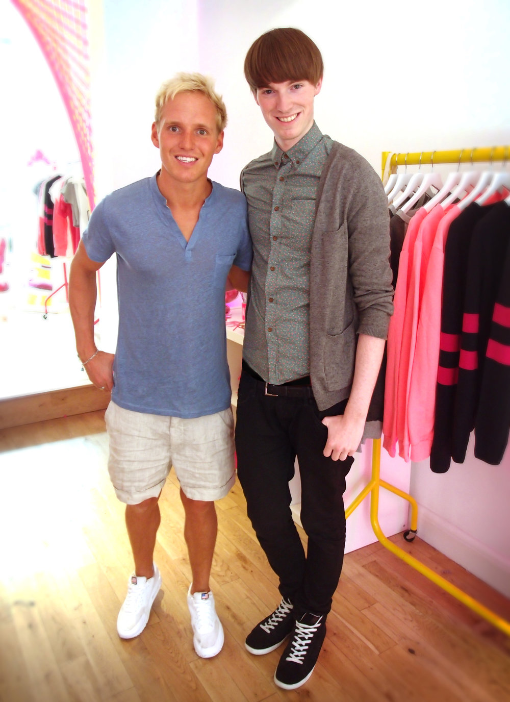 Jamie Laing & Richard Brownlie-Marshall