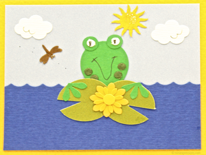 Frog in the pond nini expressions hand made organic eco friendly frog in the pond m4hsunfo