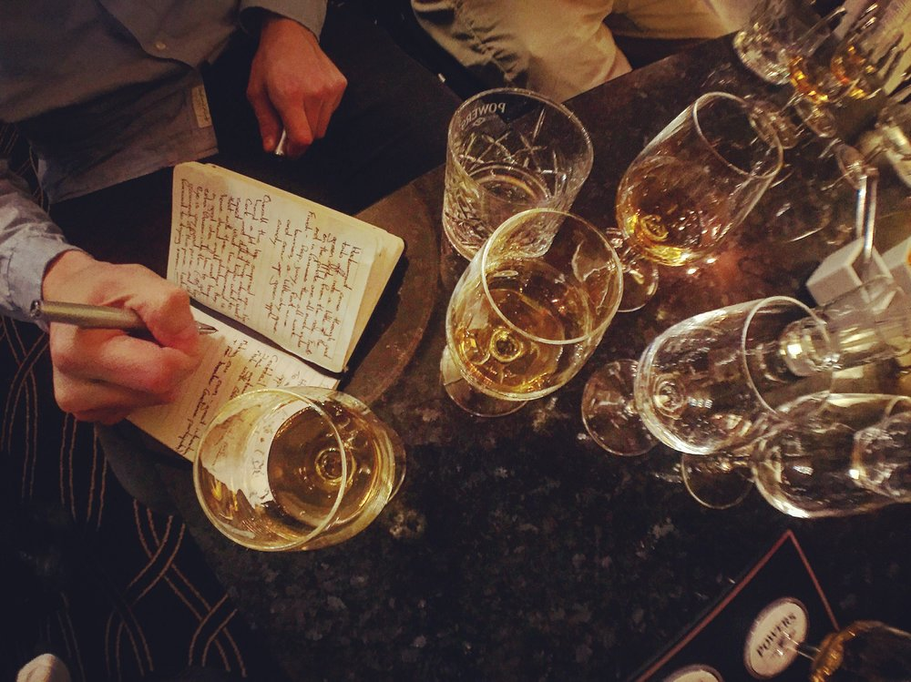notes_notebooks_whiskey_powers_irish_whiskey_merchant_hotel_belfast_ni_explorer_niexplorer.jpg
