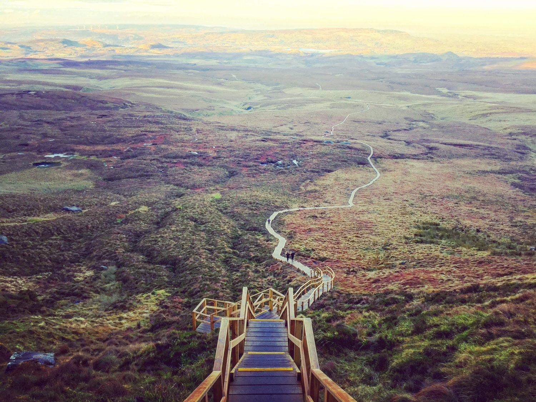 🍀[Irish Week 2.0] Where to go in Ireland: Cuilcagh Mountain