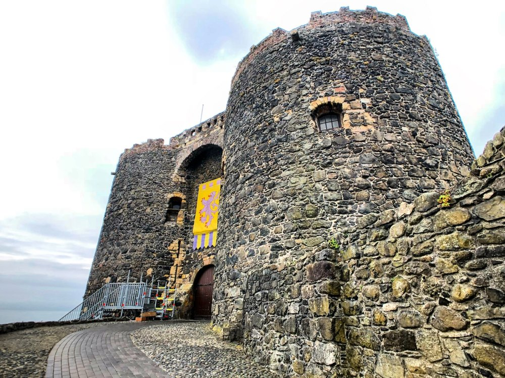 CARRICKFERGUS CASTLE -