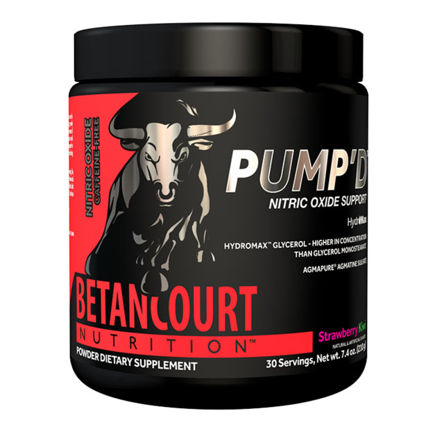 BetanCourt Nutrition Pump'd