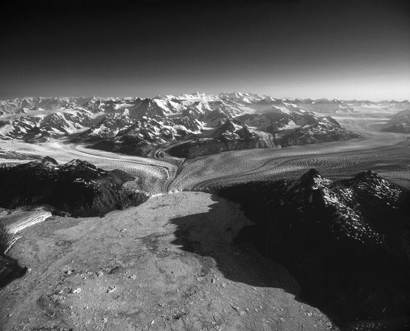 Columbia Glacier Terminus, June 2008.