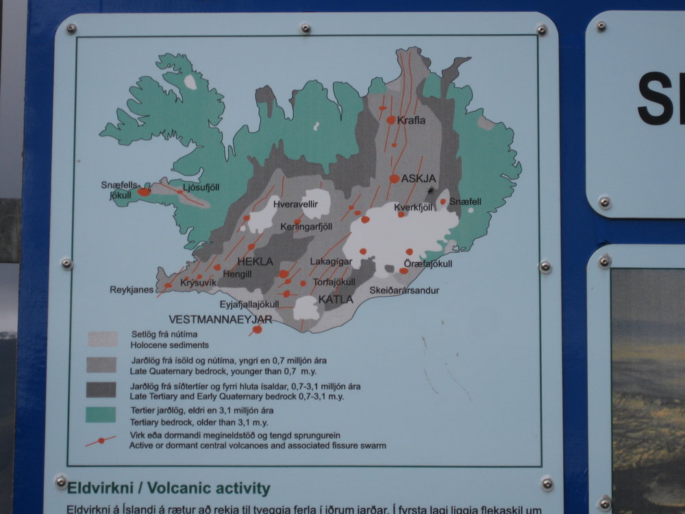 A map of Iceland shows Vatnajokull in the southeastern part of the country.