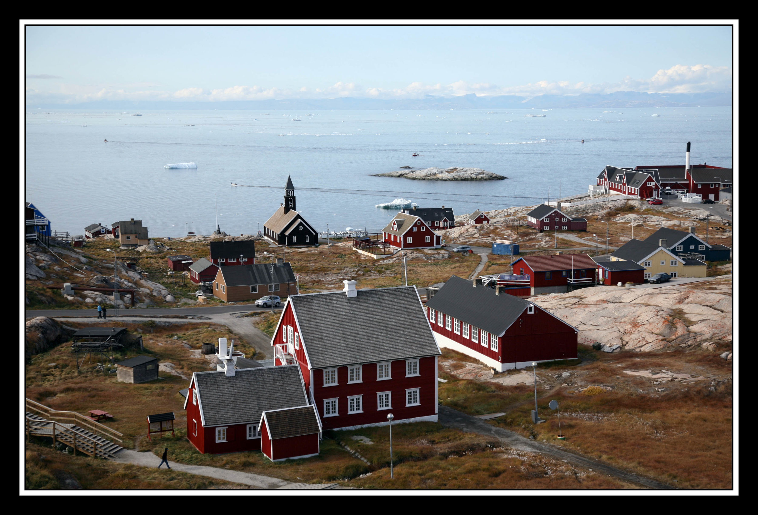 Ilulissat Water View from Town