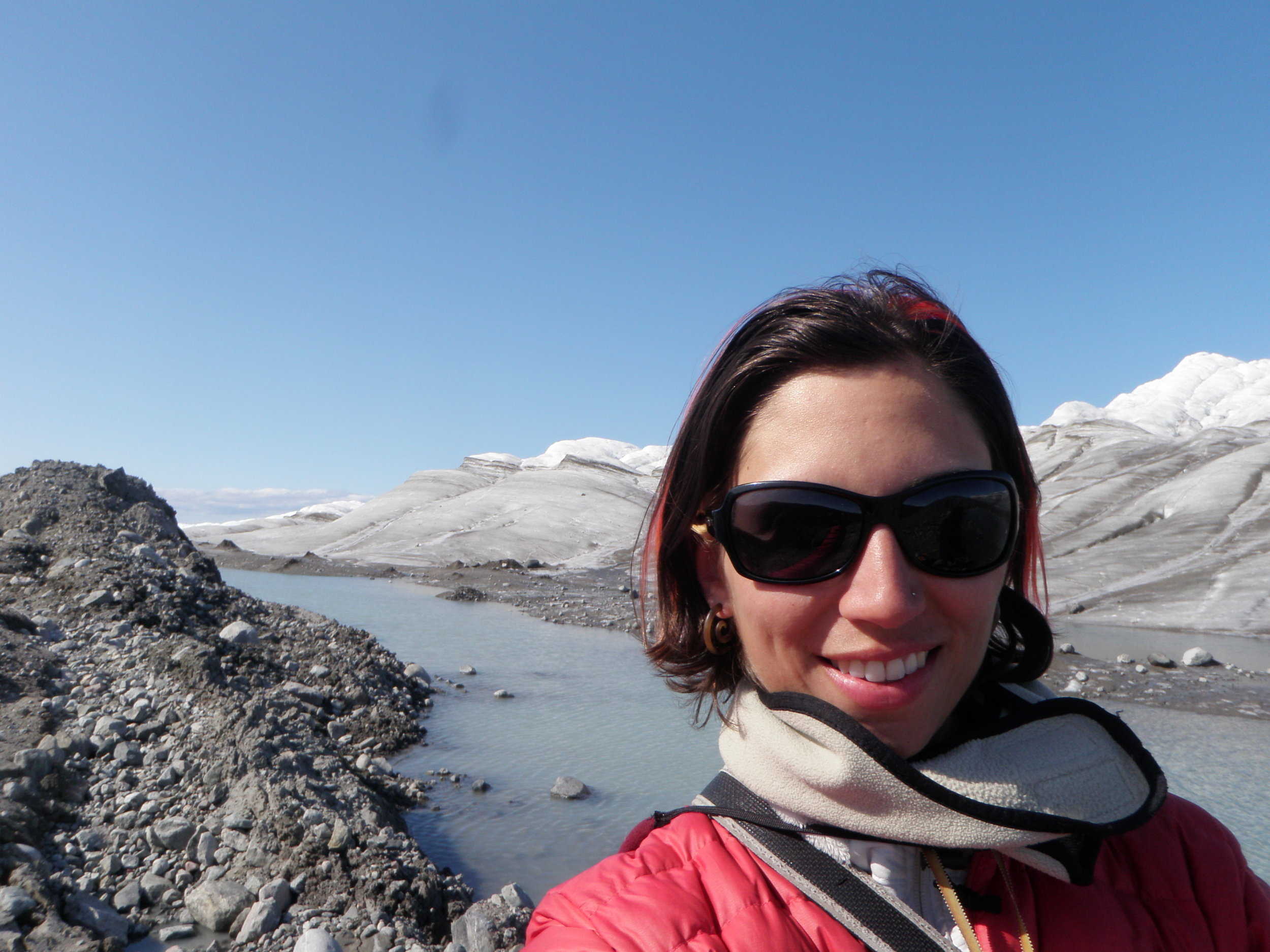 Simone Whitecloud, a Ph.D. candidate in Ecology at Dartmouth College traveled to Greenland this summer to help plan the upcoming Dartmouth IGERT summer curriculum.