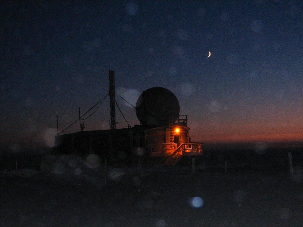 Crescent Moon 1-14-08