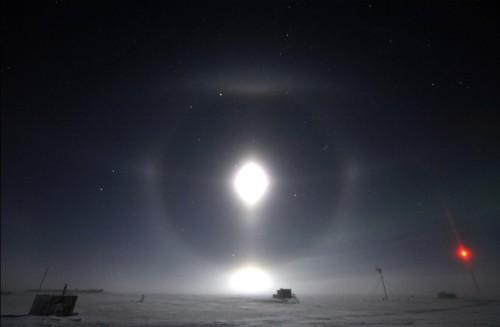 Lunar Halos