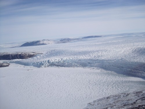 The Greenland ice sheet still holds plenty of mysteries for investigating scientists. Photo: Jessica Scheick