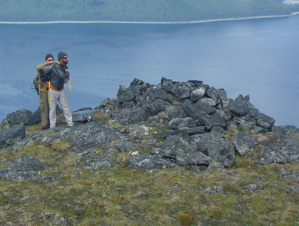 Ancient burial cairns scattered among Alaska's coastal range are the subject of a new documentary. Photo: Bill Hunt