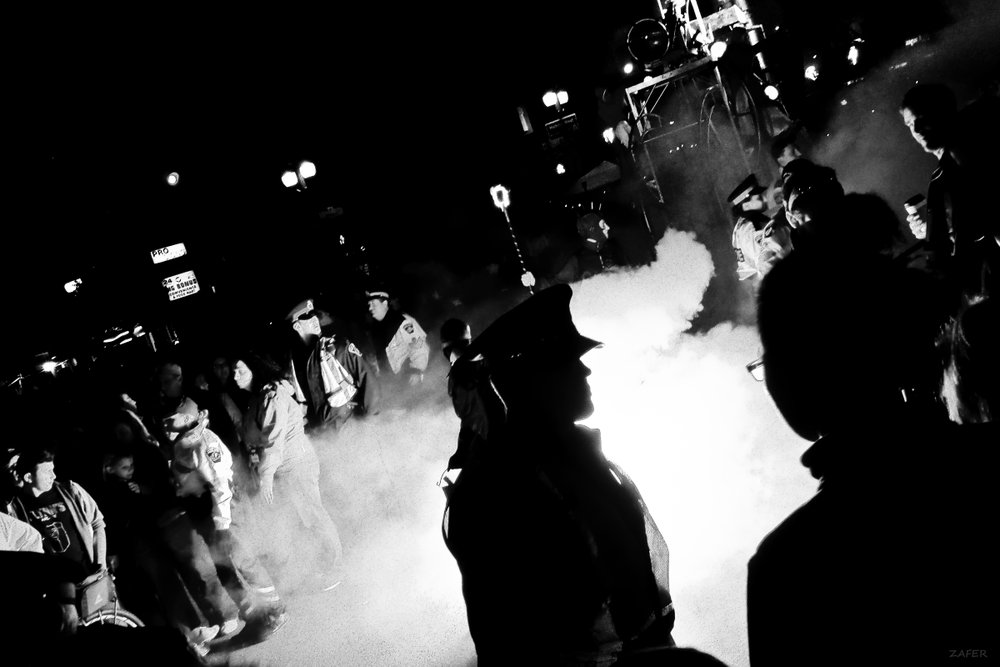 Supercrawl 2014 - Saturday - cop smoke sillouette 1 sm.jpg