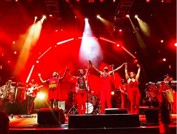"""Mwenso & The Shakes"" at BRIC Celebrate Brooklyn Festival"