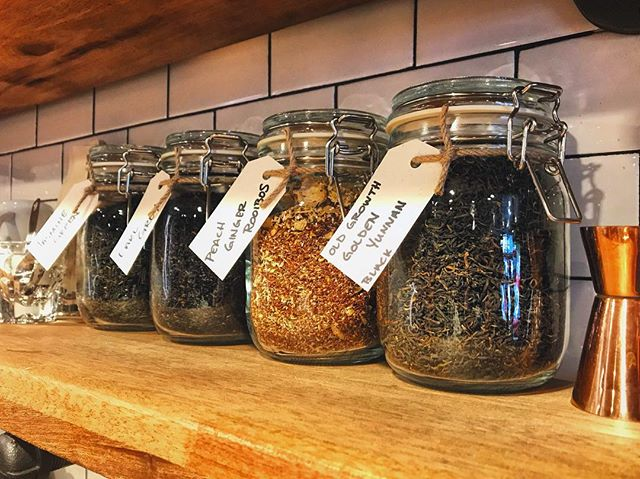 Introducing Organic Loose Leaf @shenzentea now available at The Wick!  Smells amazing and tastes even better. Start or end your day with a cup of Jasmine Green, Earl Grey, Peach Ginger Rooibos, Old Growth Golden Yunnan Black Tea. #seattle #coffee #thewick #thewickmoto #moto #tea #pnw