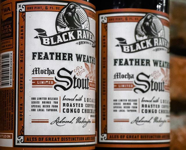 Tomorrow at the Wick we will be hosting the Feather Weather Mocha Stout Release Party. An awesome stout by @blackravenbrewing using @moto_brew_coffee. 6:30pm. Come in and have a taste!