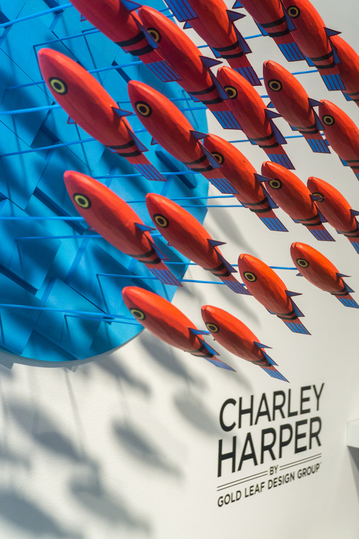Charley Harper - Fish