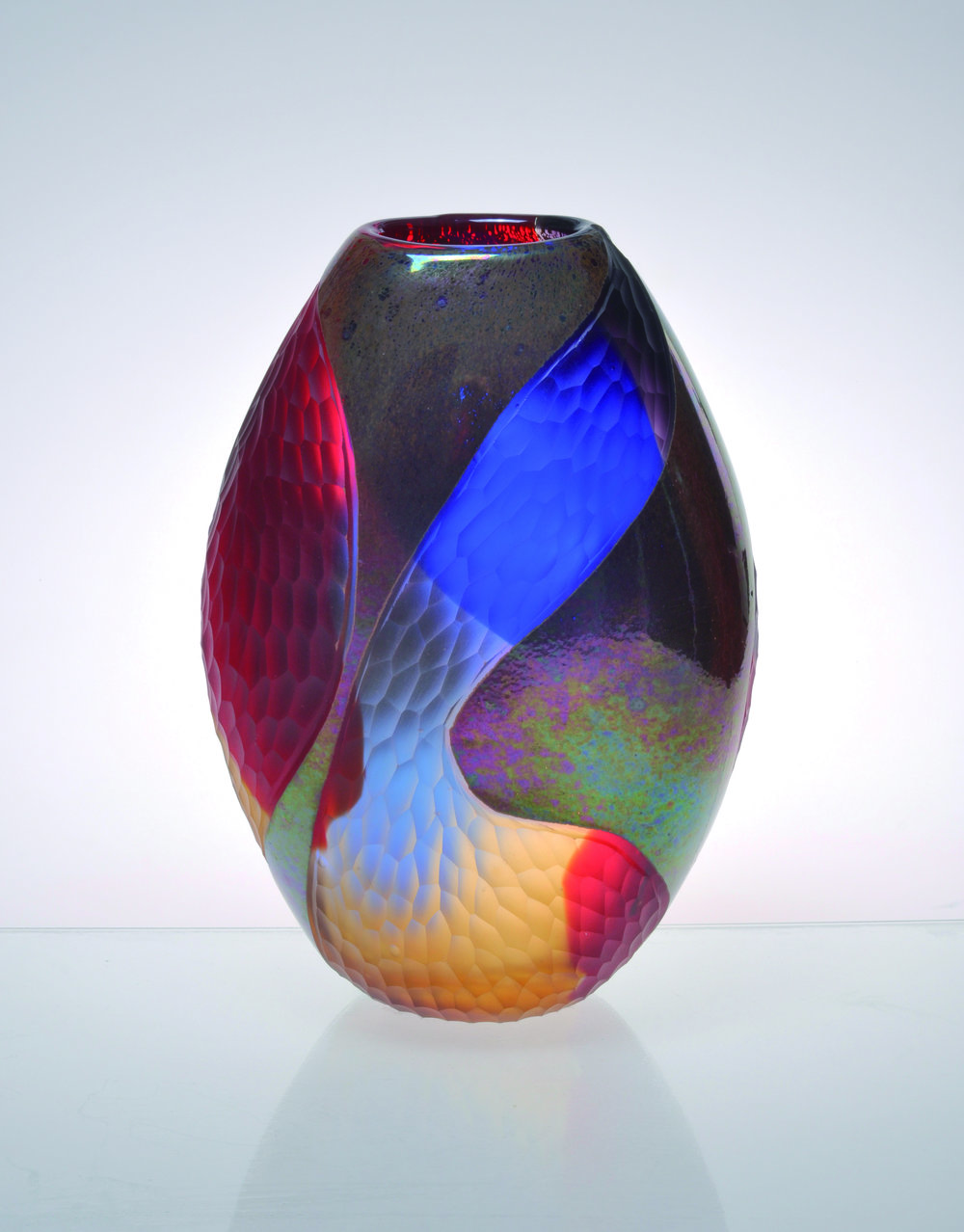 Multi Color Vase