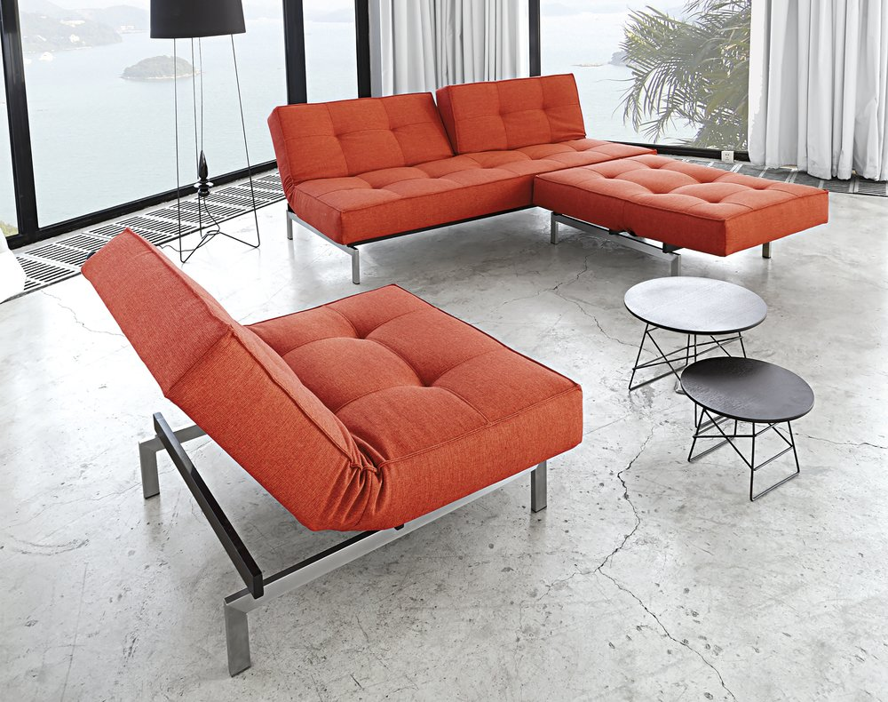 Splitback sofa and chair