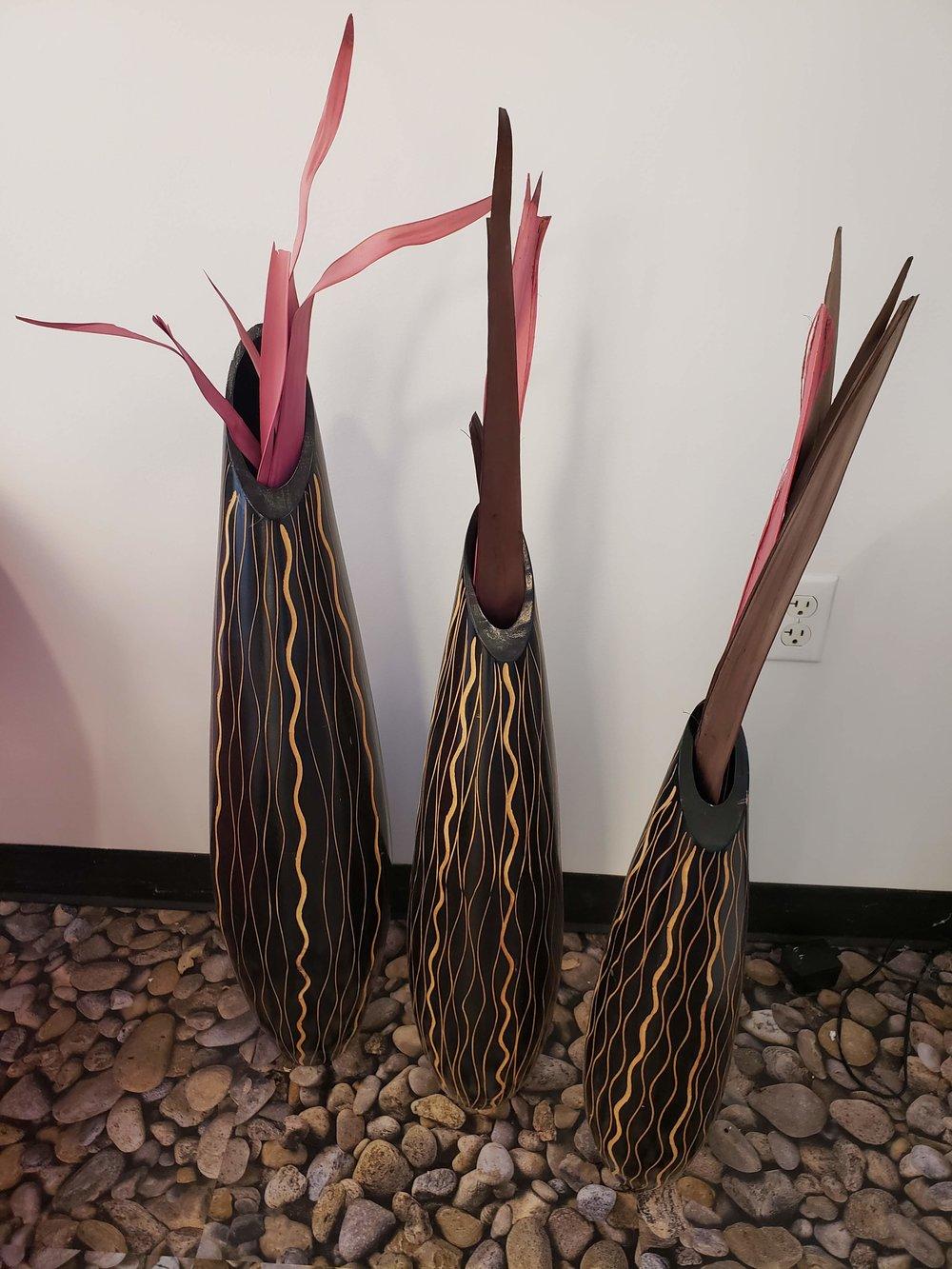 Seagrass Bullet Vase