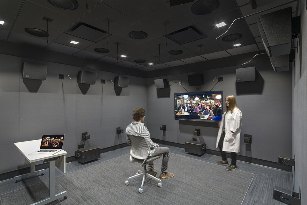 Northwestern University School of Communications Audiology Clinic