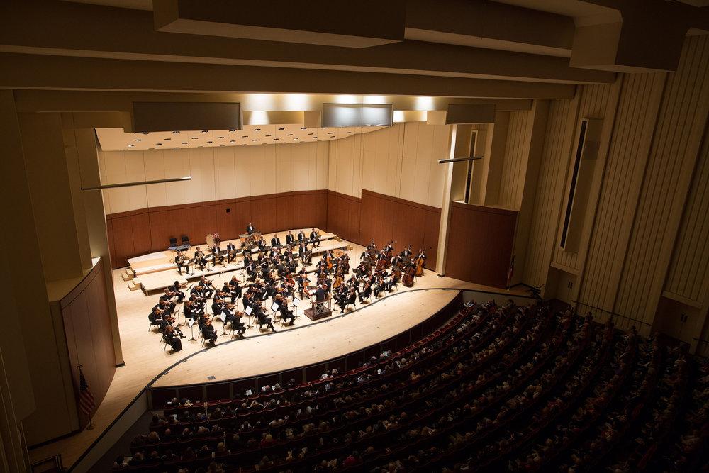 Woodruff Arts Center Atlanta Symphony Orchestra Shell