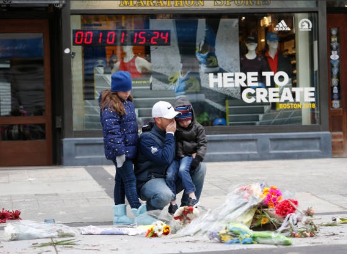 The Boston Globe: Boston Marathon bombings remembered in somber events -