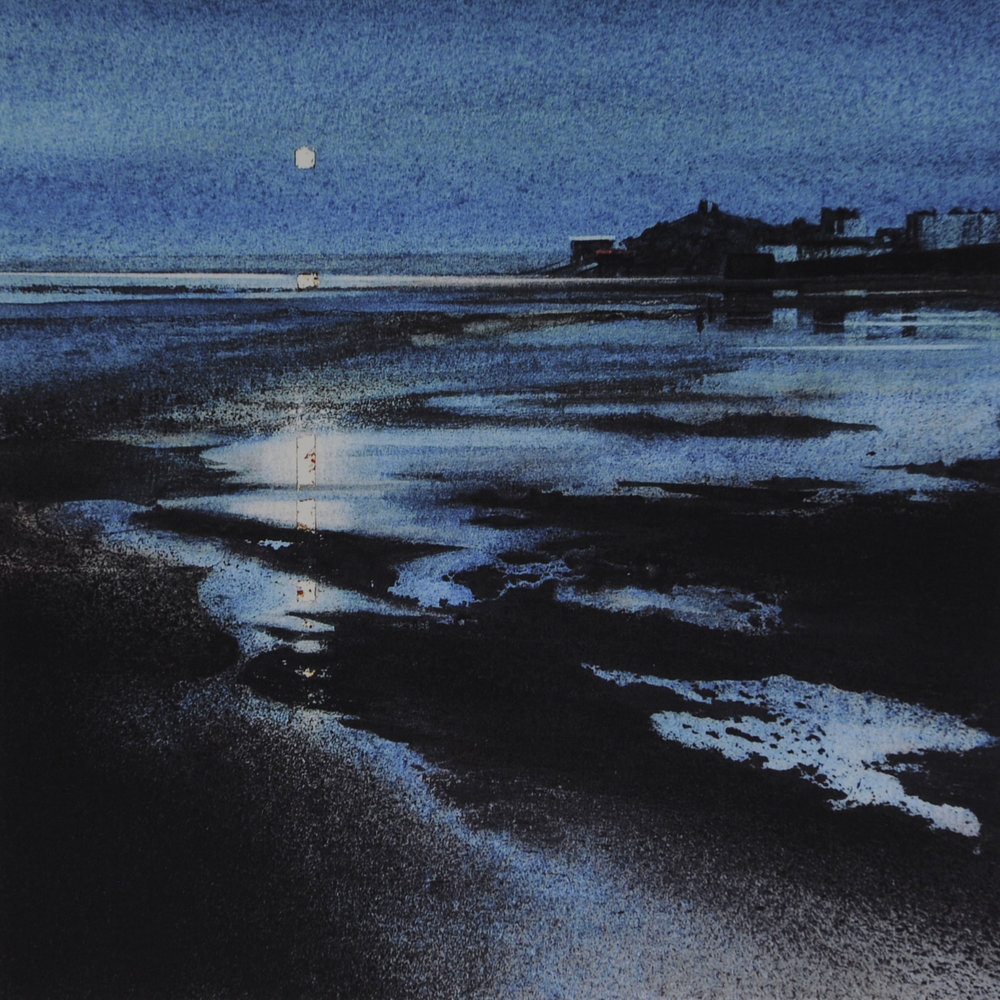 Blue Moon, Tenby      7 x 7 in      £50