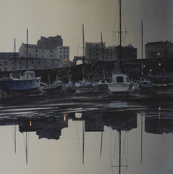 First Light, Tenby Harbour