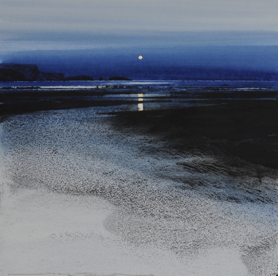 Moonrise, North Beach